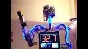 Robot Solves Rubiks Cube