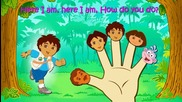 Dora The Explorer Finger Family