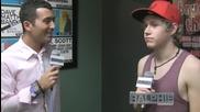 One Direction - Найл говори за феновете в Ню Йорк - Интервю за Ralphie Radio