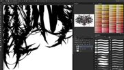 Time Lapse Creating A Death Metal_deathcore Logo 2014