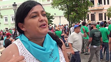 Puerto Rico: Thousands march to demand release of Oscar Lopez Rivera
