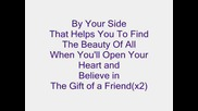 Demi Lovato - Gift Of A Friend lyrics