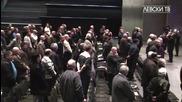 Химнът на Левски вдигна на крака участниците в Ос на клуба