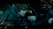 Lord of the Rings - Wraiths on Wings over the Dead Marshes with lyric