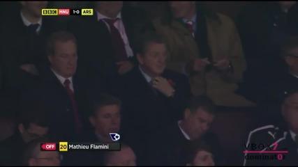 10.11.13 Манчестър Юнайтед 1 - 0 Арсенал - Най-доброто от мача