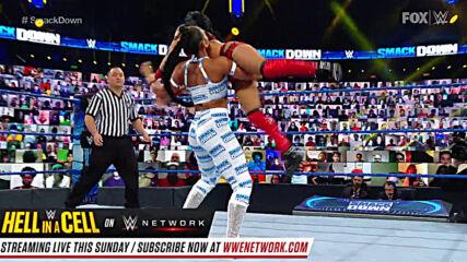 Bianca Belair vs. Zelina Vega: SmackDown, Oct. 23, 2020