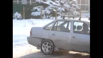 Дрифтинг На Снега