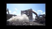 разрушаване на сгради и съоръжения - без взрив -джапона Еоод