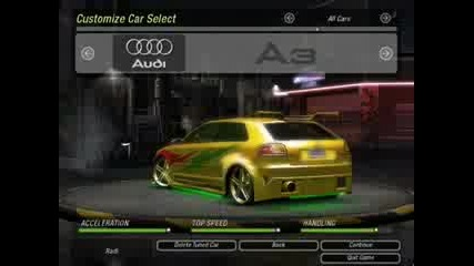 Nfs Underground 2 cars (need for speed need for speed)