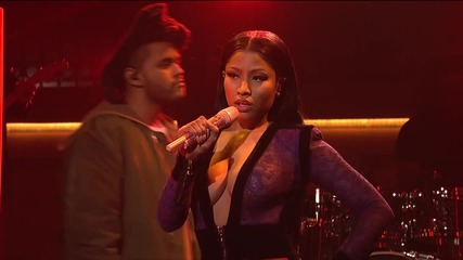 The Weeknd - The Hills (live On Snl) ft. Nicki Minaj