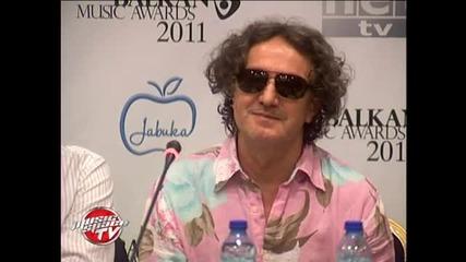 Балкански музикални награди 2011 - Звездите за балканската музика