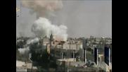 Експлозии са разтърсили сирийска военна база край Дамаск