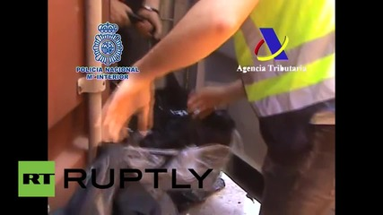 Spain: Police find 160 kilos of cocaine hidden in COCOA shipment