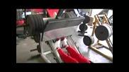 Рони Колман - тежащ 160 килограма - част - 9