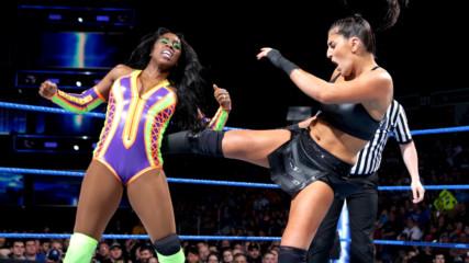 Смазващ мач между Наоми и Соня Девил! Money in the Bank, Разбиване, 22 Май 2018
