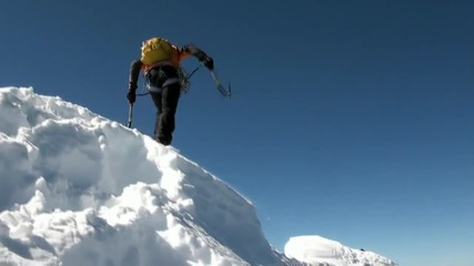 Спортно катерене - заснежени скали ( Ice climbing) - част 1