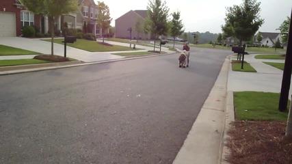куче кара скутер.