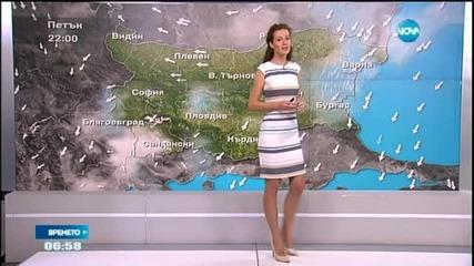 Прогноза за времето (03.07.2015 - сутрешна)