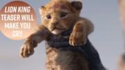 """3 неща, коио не знаете за новия филм """"Цар Лъв"""""""