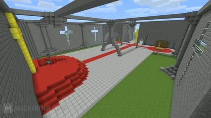 Minecraft_ Church Timelapse