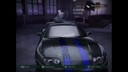 My career cars in NFSC2