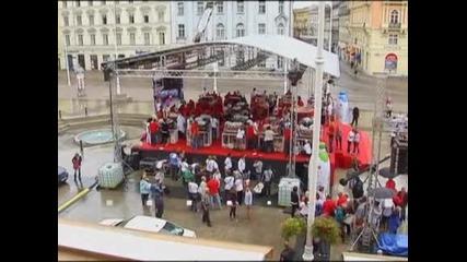 В Хърватия поставиха световен рекорд за най-голямо капучино