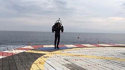Раница издигна човек на 3км. височина