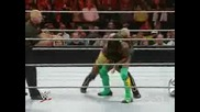 Shelton Benjamin vs Kofi Kingston (extreme Rules)