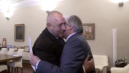 Бойко Борисов се срещна с руския посланик Анатолий Макаров