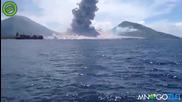 Ударната вълна от вулкан