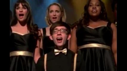Glee - Клуб Веселие - Fly / I believe I can fly ( Nicki Minaj feat. Rihanna / R Kelly)