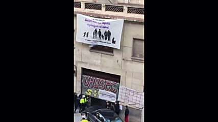 Spain: Driver detained after ramming into Barcelona squat