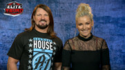 "AJ Styles and Renee Young have an Elite Squad reveal with ""muscle"""