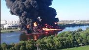 Пожар в руска река