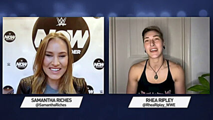 Rhea Ripley on her historic championship win, evolution as a WWE Superstar, and thoughts of home