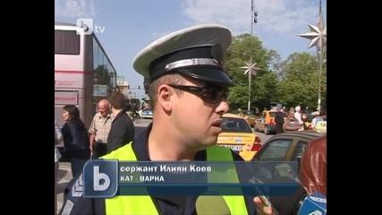 Акция срещу пешеходци-нарушители във Варна