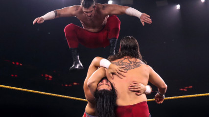 The Forgotten Sons vs. Adrian Alanis & Leon Ruff: WWE NXT, Dec. 4, 2019