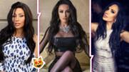 Възходът на черното: Известните българки, върнали цвета отново на мода в косите