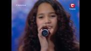 15 годишно момиче разплака всички с гласа си в Украйна търси талант