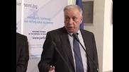 Яне Янев, Мартин Димитров, Румен Овчаров и Димитър Лазаров за ядрения референдум