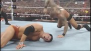 Wwe Randy Orton vs Cody Rhodes vs Debiase
