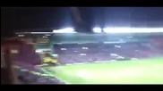 Фенове на Селтик създават страхотна атмосфера по време на футболен мач
