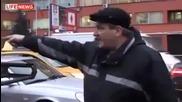 Луди шофьори се бият в Русия