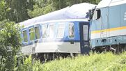 Czech Republic: Emergency services on scene after deadly train crash near Pilsen