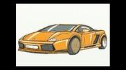 Рисуване На Lamborghini Gallardo