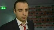 * Интервю * Бербатов говори за изпуснатата дузпа срещу Евертън