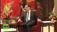 Могерини се срещна с китайския министър-председател в Китай