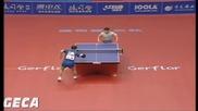 Жестока игра на ((kalinikos Kreanga )) Тенис на Маса :)