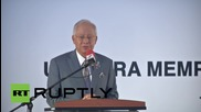 Malaysia: Memorial service held for MH17 victims, nearly one year on