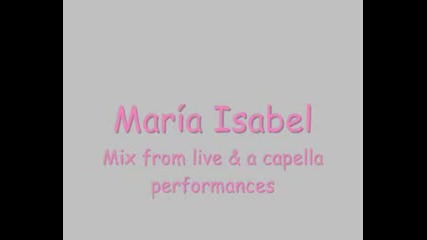 Maria Isabel Live Mix